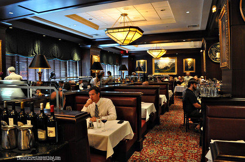 Dining Room at The Capital Grille ~ Minneapolis, MN