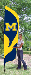 Michigan Tall Feather Flag