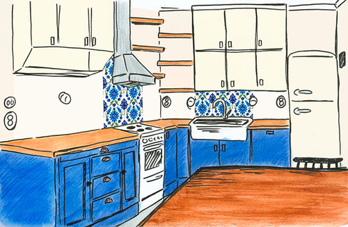 Kitchen plans and dreams