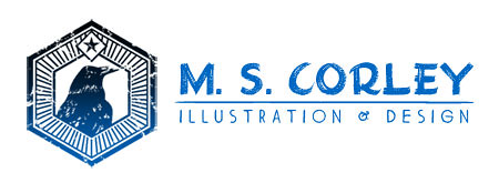 MS Corley Illustration & Design Logo