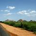E o verde ja comeca a aparecer no sul do Sudao