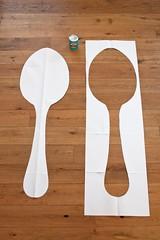 Giant spoons