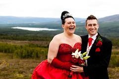 Steve_Vicki_24-06-2011 (RossElder) Tags: family wedding friends male female groom bride scotland kilt dress tie suit rings bridesmaid loch groomsmen cairngorm lochmorlich morlich cairngormmountains