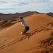 Muito legal se jogar nas dunas