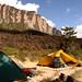 E esse é o acampamento base