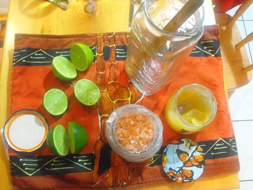 Agua de limón