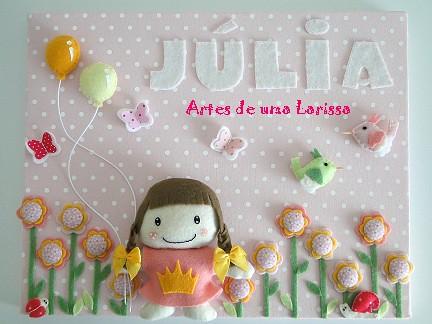 Júlia by Artes de uma Larissa