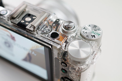 PENTAX Q skeleton white