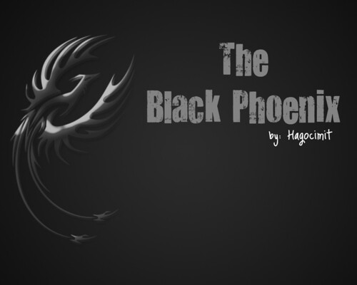 (10-18) The Black Phoenix by aerenea23