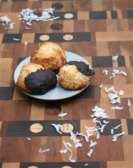 Coconut Chocolate Macaroons 2