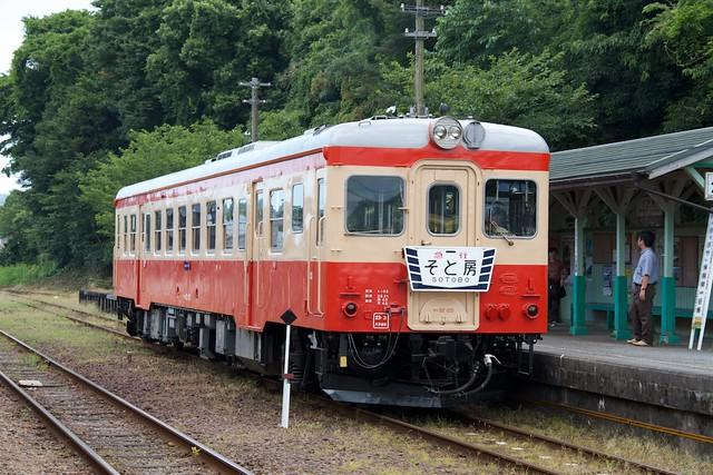 いすみ鉄道キハ52系 急行そと房