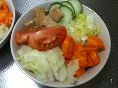 朝食サラダ(2011/7/18)