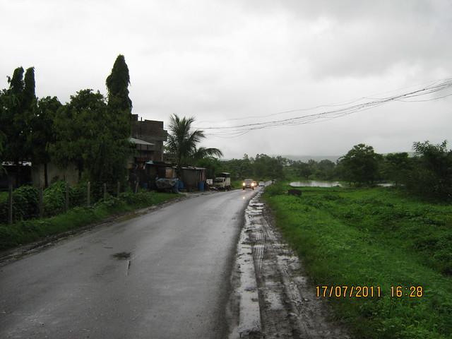 Pirangut Ghat - Urawade Naka Road to Mont Vert Vesta Urawade Pirangut Pune 412 108