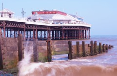 Cromer Pier (Gary Williams: www.cos-solutions.co.uk) Tags: sea pier norfolk wave groyne cromer