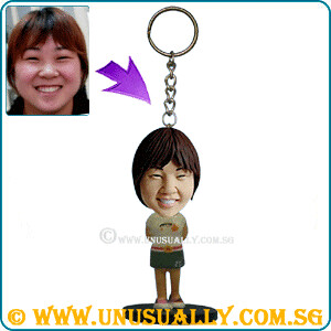 Custom 3D Mini Key Ring Figurine