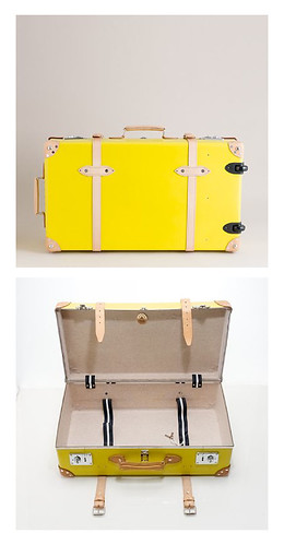 Currently Loving Yellow Suitcase