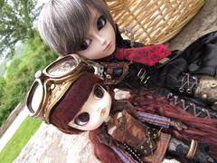 Keane And Winifred (KristacianTheMermang) Tags: friends cute nature outdoors dal keane gyro steampunk winifried taeyang ramuw