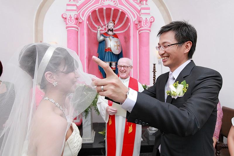 嘉豪、佳瑋澳門結婚記錄