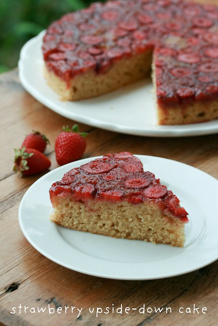 Strawberry Upside-Down Cake