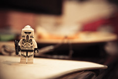 Not the minifig you were looking for ( Sensei) Tags: desktop vintage mouse lego bokeh background pad retro sharp saturation stormtrooper minifig vibrance razer