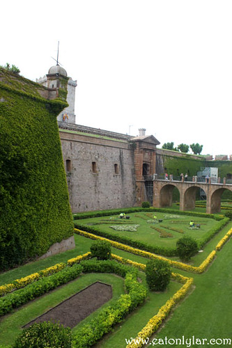 Garden, Castell de Montjuïc