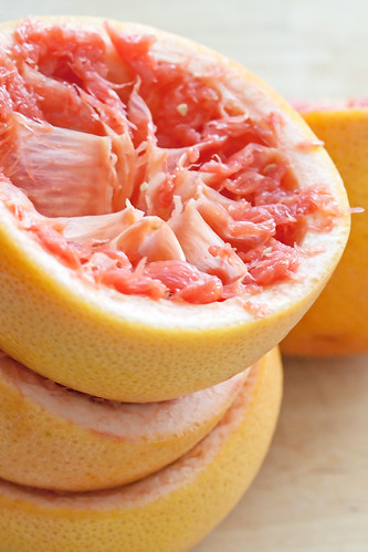 Squeezed Grapefruits
