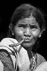 INDIA (Clara Cabezas) Tags: ri portrait blackandwhite bw india blancoynegro face asia retrato cara porträt bn anciano ritratto