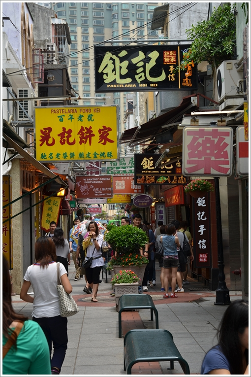 Rua do Cunha - Definitive Food Street of Macau
