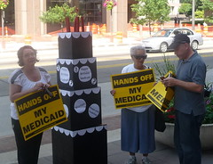 Let's Celebrate, not Decimate, Medicaid Rally by ProgressOhio