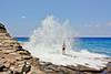 OahuHawaii-0060 (chucksmithphoto) Tags: ocean usa man hawaii coast rocks waves oahu shore chuck honolulu portlock hanapepeloop