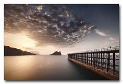 Primeras luces desde El Hornillo, Águilas (jose.singla) Tags: reflexions peregrino27worldchanging