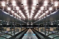 Hbf Berlin (sterreich_ungern) Tags: berlin station germany deutschland mirror angle central wide hauptbahnhof