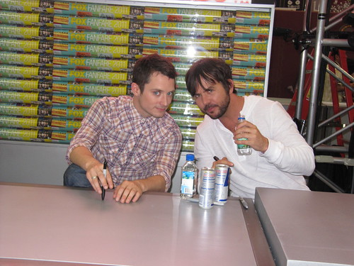 Jason Wood Comics Elijah Wood And Jason Gann