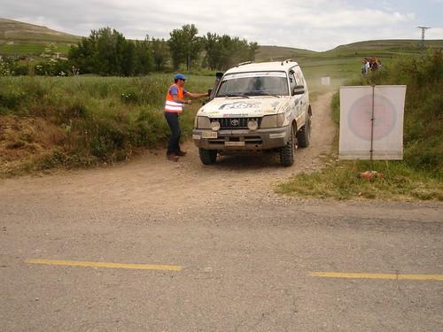 El ganador del programa Victor Vázquez en el Rallye Tierras del Cid 2011