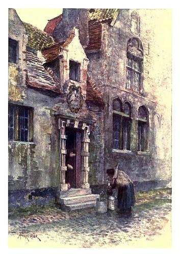 010-Casa del Pelicano en Brujas-Belgium 1908- Amédée Forestier