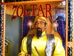 Zoltar says I probably have Strep Throat - by Greg Lilly Photos