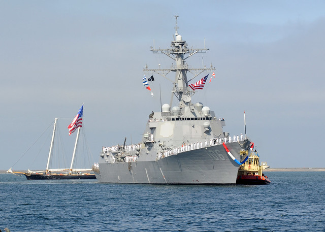 USS Stockdale (DDG 106) Homecoming