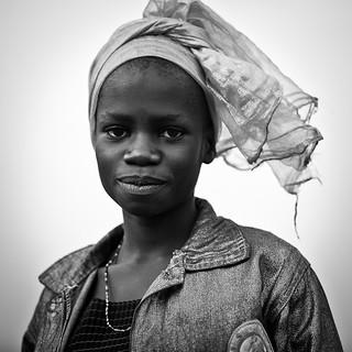 Lendu girl from Gety - DR CONGO -