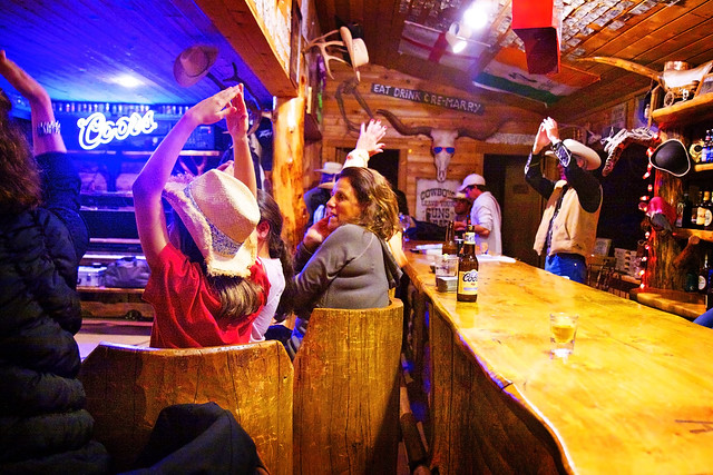 Black Mountain Colorado Dude Ranch singing bar saloon