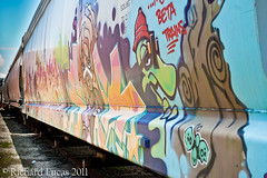 Tags-5 (RLucas2009) Tags: art colors train nc grafitti tag asheboro