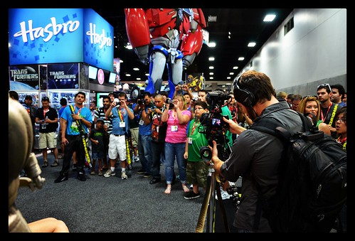 SDCC 2011 - Crowds with cameras
