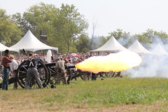 Cannon Fire (ncbillyboy) Tags: union confederate civilwar manassas bullrun