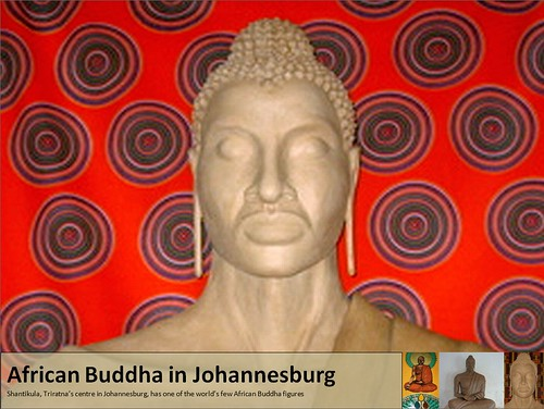March - Buddha at Shantikula, Johannesburg by Triratna Photos