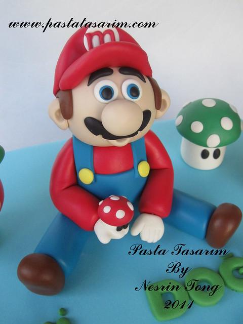 mario cake- mehmet birthday