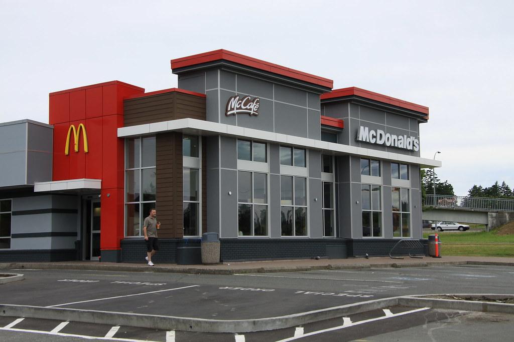McDonalds In Saanichton, BC, Canada