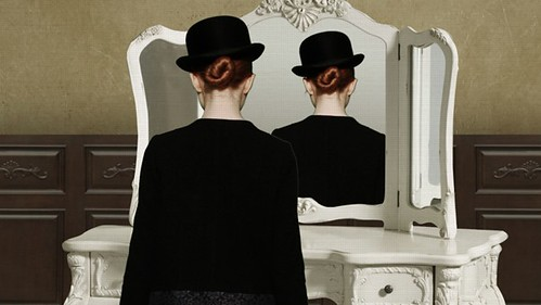 Magritte Inspired Video Still via becauselondon 03