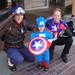 San Diego Comic-Con 2011 - 3 Captain Americas