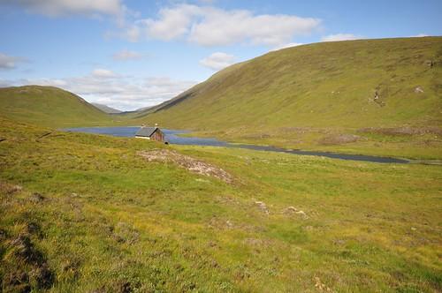 Bothy at Loch Chiarain