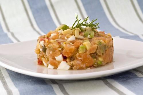Tartar de salmó 1