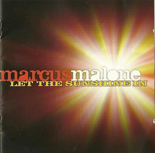 Marcus Malone Sunshine CD